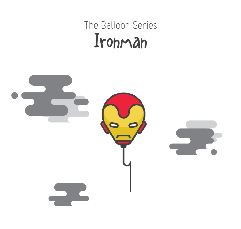 The balloon series - Ironman
