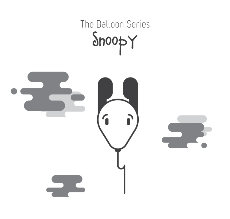 The Balloon Series - Snoopy