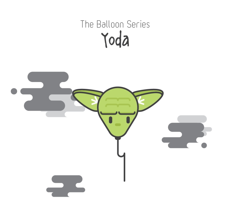 The Balloon Series - Yoda