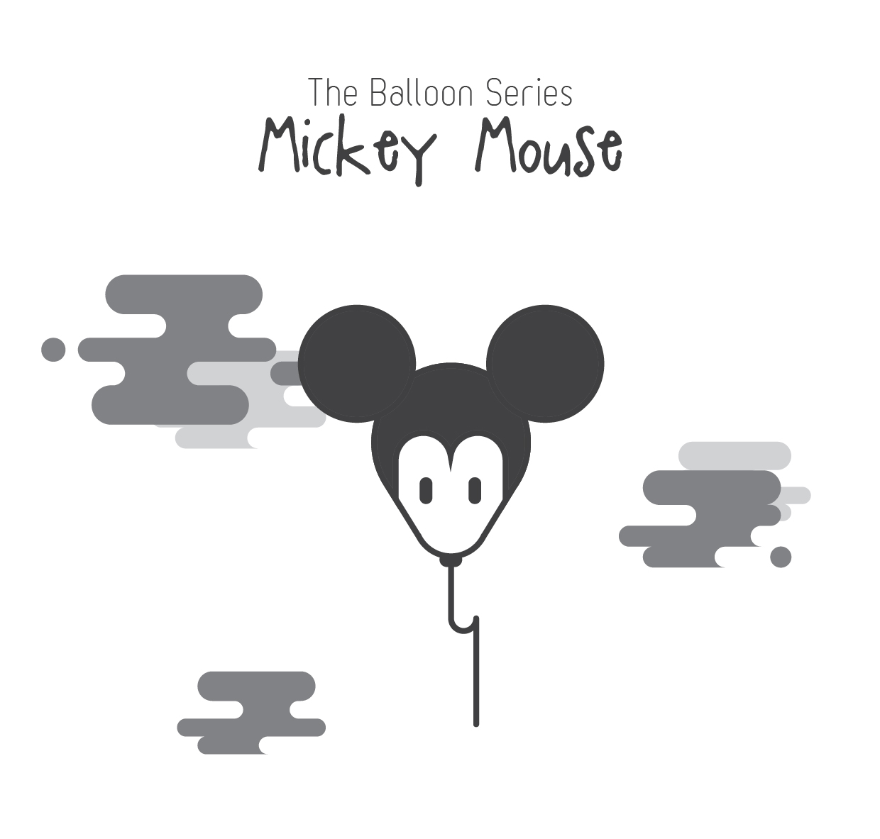 The Balloon Series - Mickey Mouse