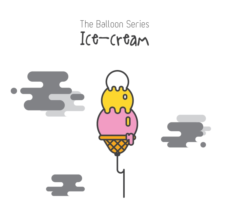 The Balloon Series - Ice-cream