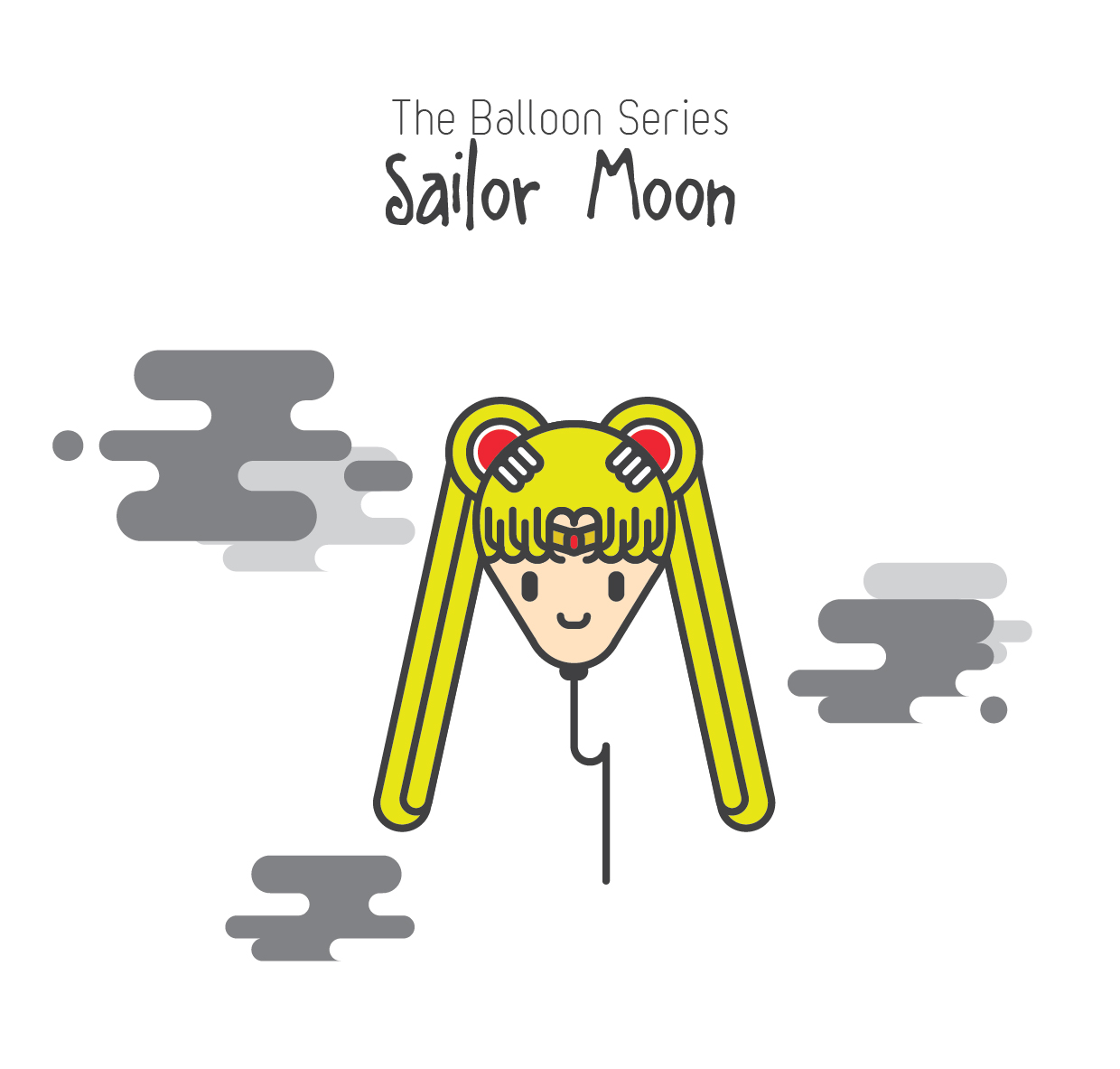 The Balloon Series - Sailor Moon