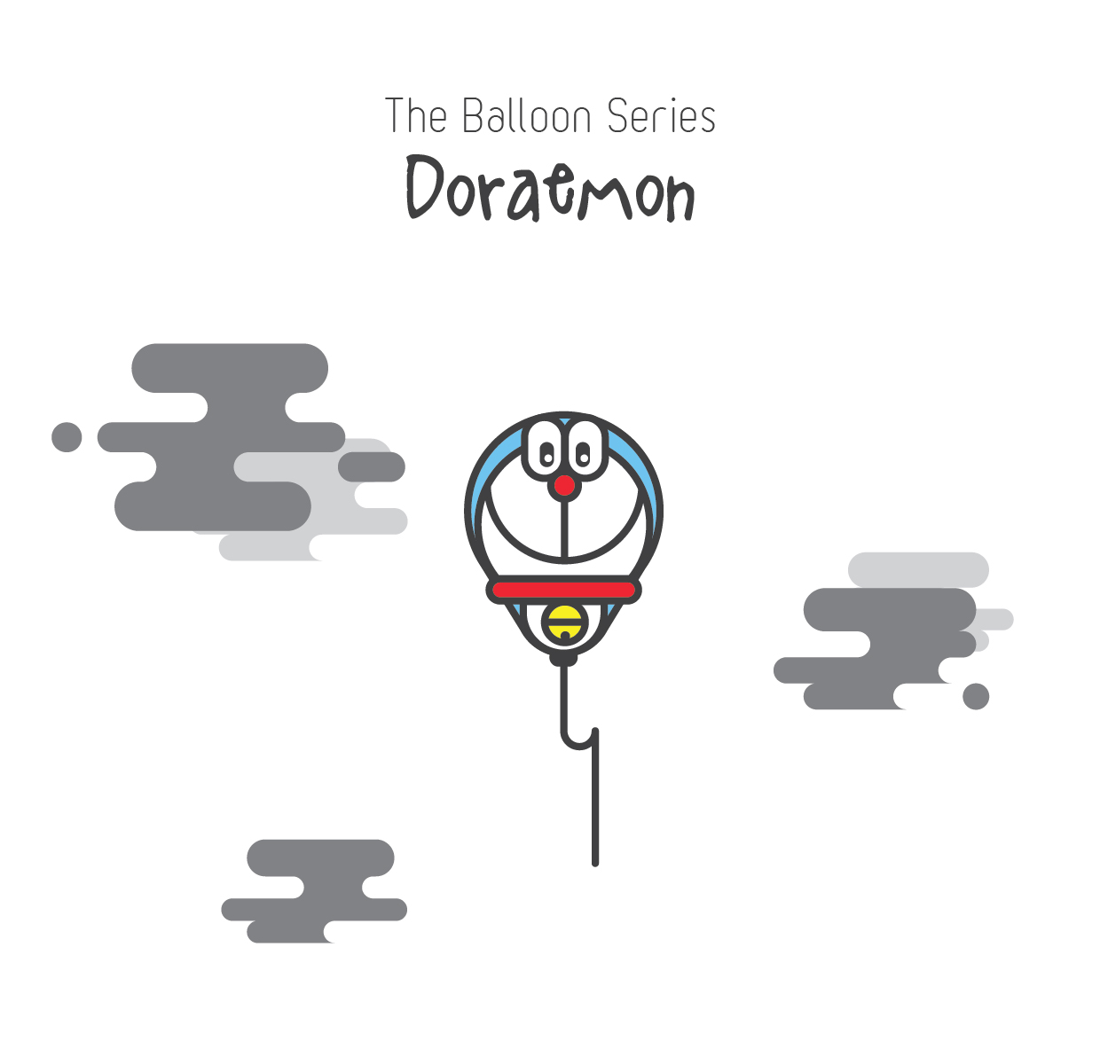 The Balloon Series - Doraemon