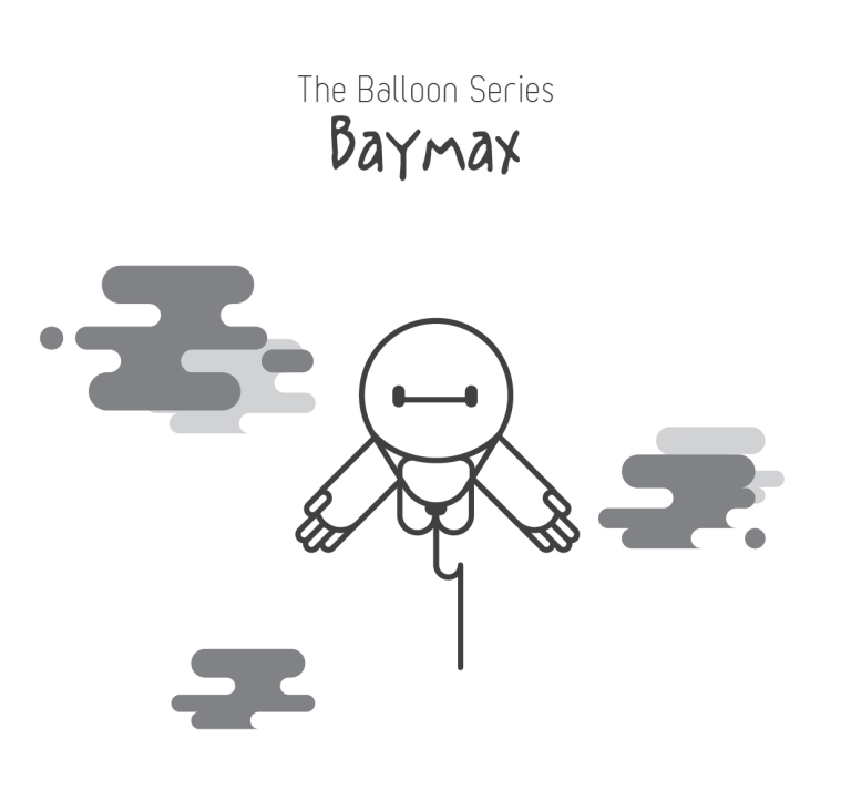 The Balloon Series - Baymax