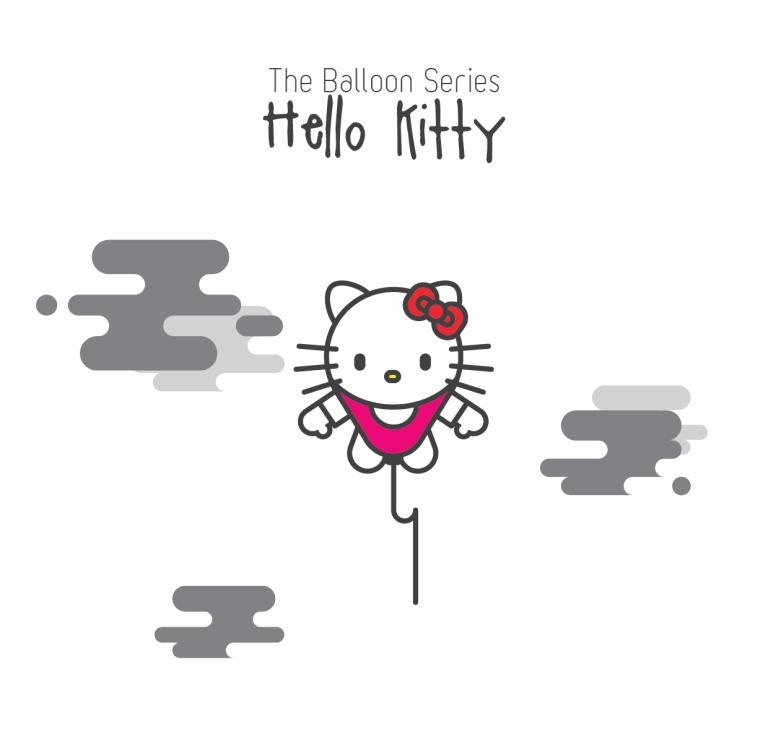 The Balloon Series - Hello Kitty