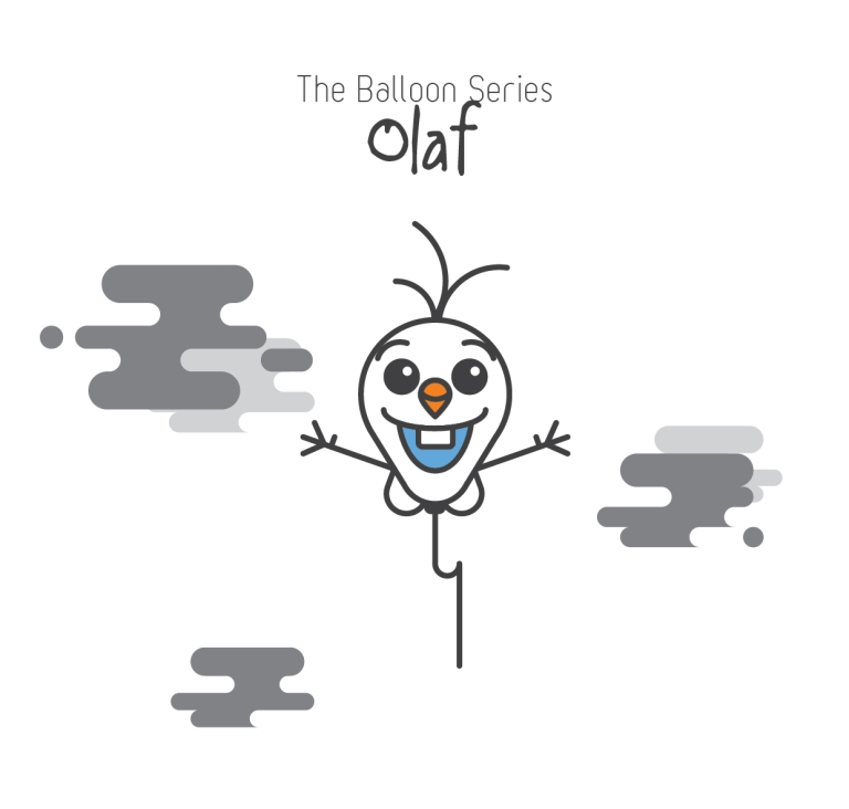 The Balloon Series - Olaf