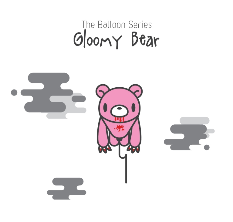 The Balloon Series - Gloomy Bear