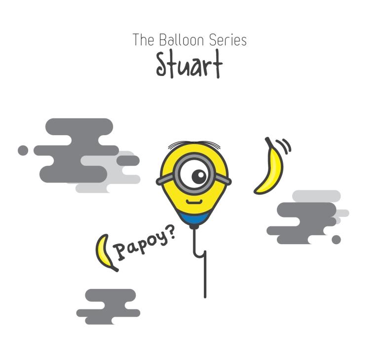 The Balloon Series - Stuart [Despicable Me]