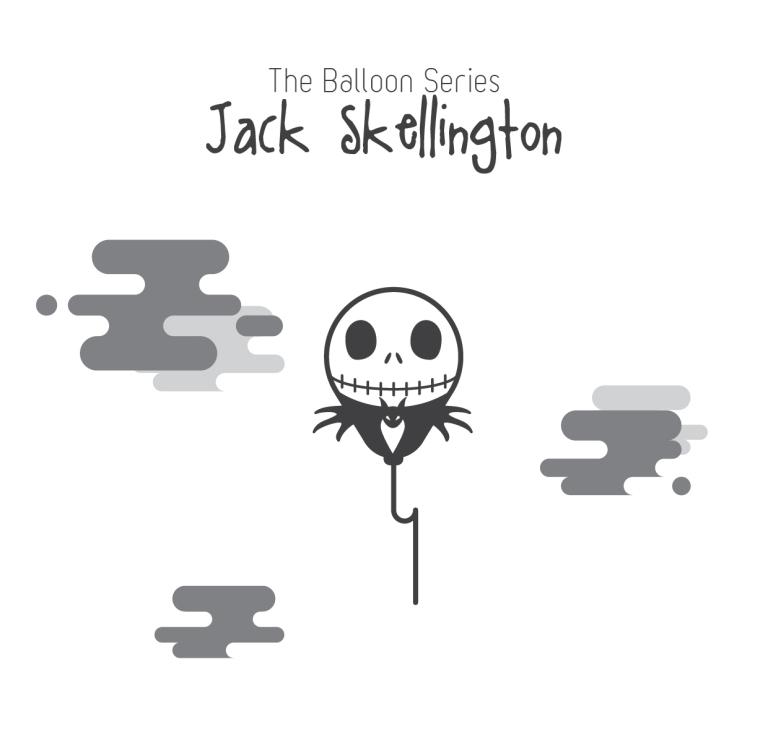 The Balloon Series - Jack Skellington