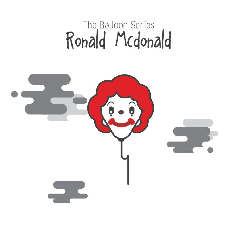 The Balloon Series - Ronald McDonald