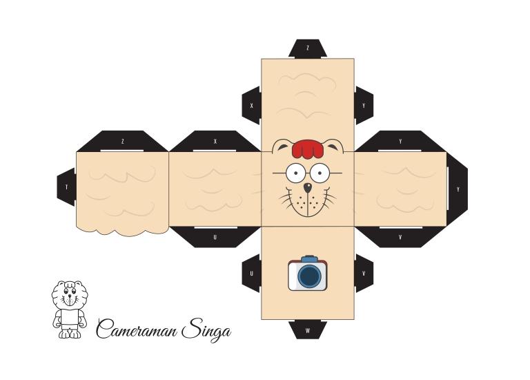 Cube Craft - Cameraman Singa